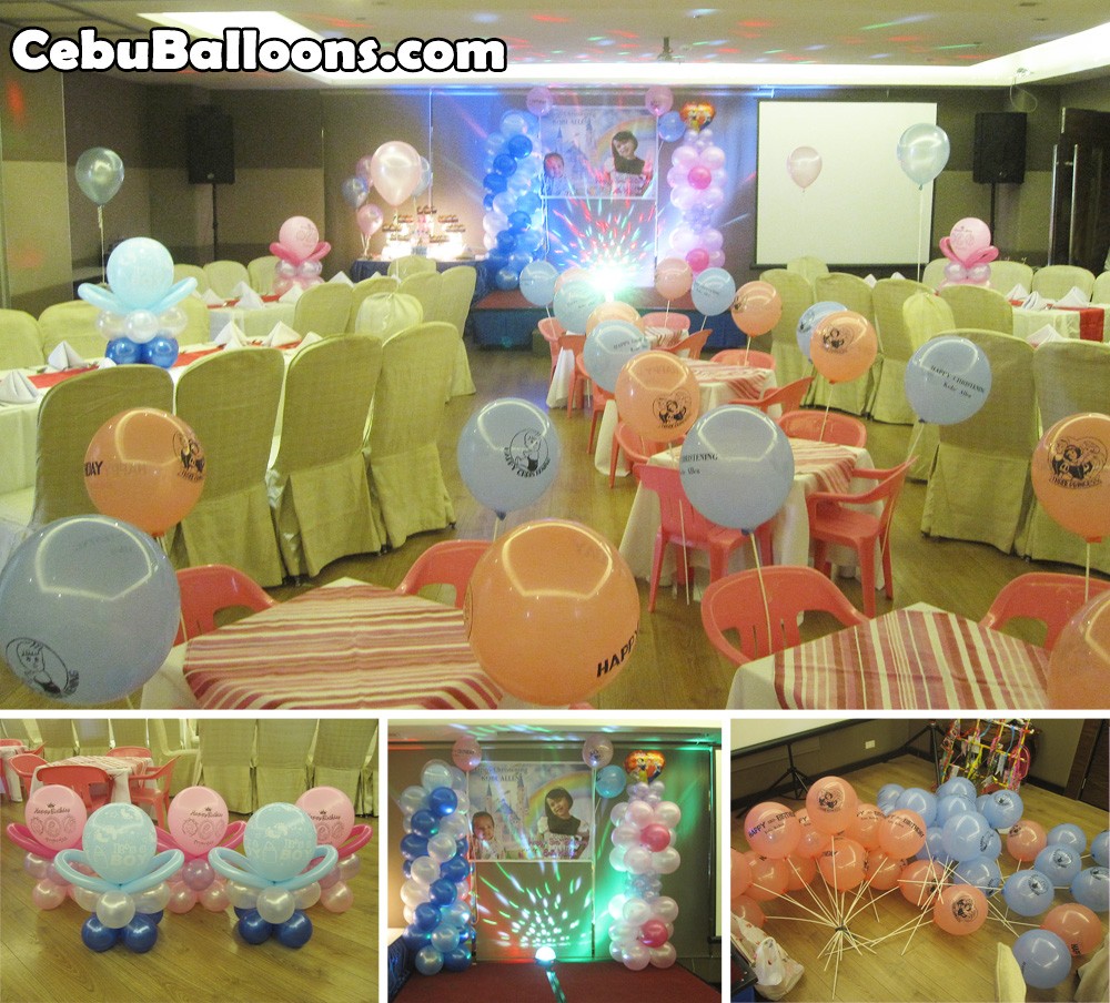 Decoration Ideas For Multi Themed Birthdays Amp Double Celebrations Cebu Balloons And Party Supplies
