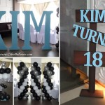Balloons & Styro Decors for a Debut at Cityscape Hotel