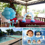 Balloons, Tarp & Giveaways for Christening at Villa Asela Resort