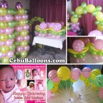 Balloons and Tarp for Christening at Maguikay