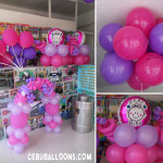 Balloons for a Christening at United Pentecostal Church in Paknaan
