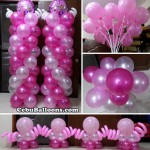 Balloons for a Girl's Christening at Hermag Village