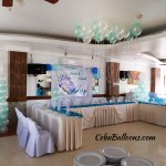 Balloons for a Wedding Celebration at Maria Lina Catering Building