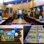Baptism Balloons with Tarp & Ref Magnets at Golden Cowrie Lahug