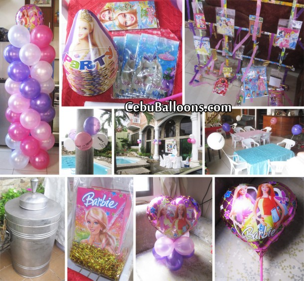 Barbie Party Package at Sun Valley Subdivision