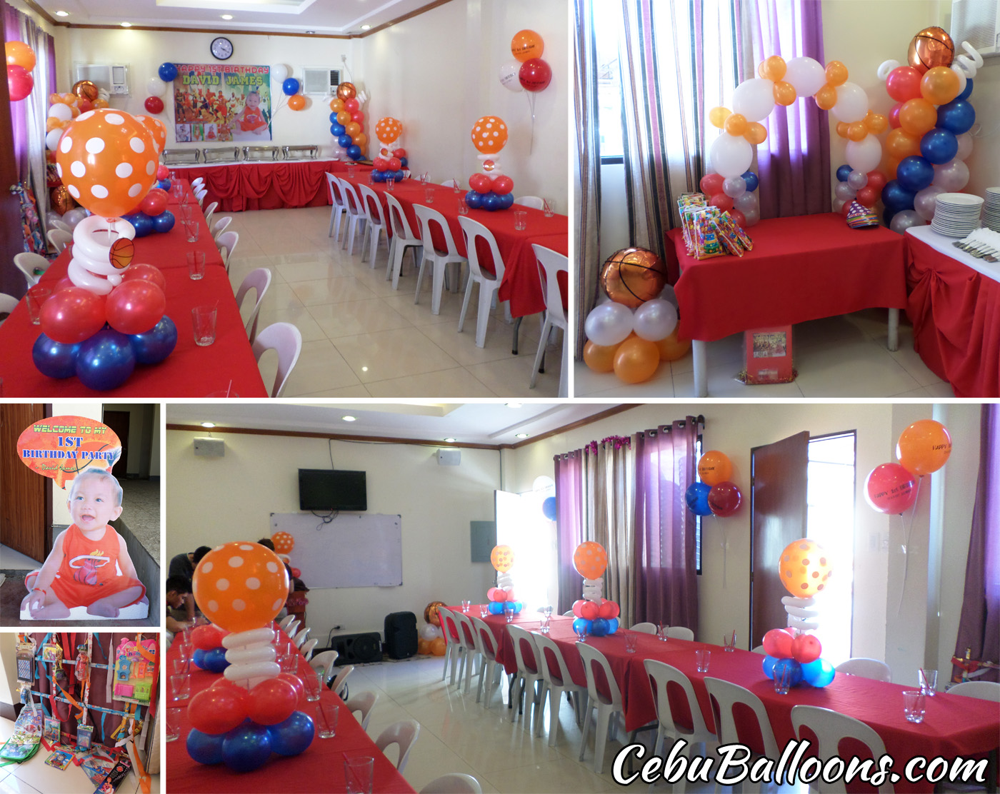 Basketball Cebu Balloons And Party Supplies