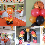 Basketball-theme Balloon Decoration Package at Alpa Suites in Subangdako Mandaue