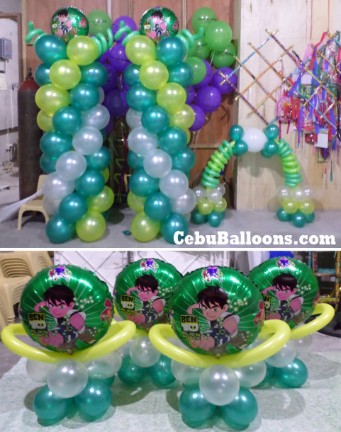 Ben 10 Balloon Decors Package for Labogon