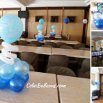 Boy Christening Balloon Setup at Sugbahan Restaurant