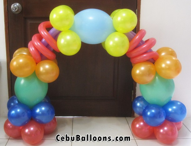 Cake Arch for Boy Birthday