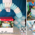 Cake, Balloon Arch & Giveaways for Christening