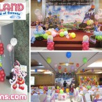 Candyland Balloon Setup at Allure Hotel