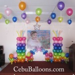 Candyland Balloon Decoration at LEMCO Building
