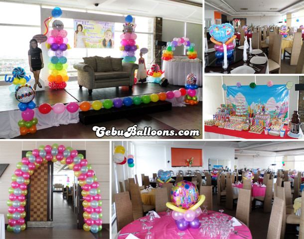 Candyland Decor & Dessert Buffet at Robinland