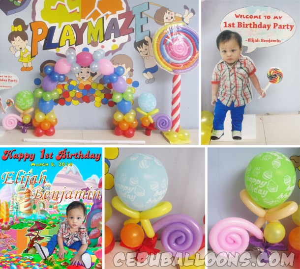 Candyland Decors at Playmaze Parkmall