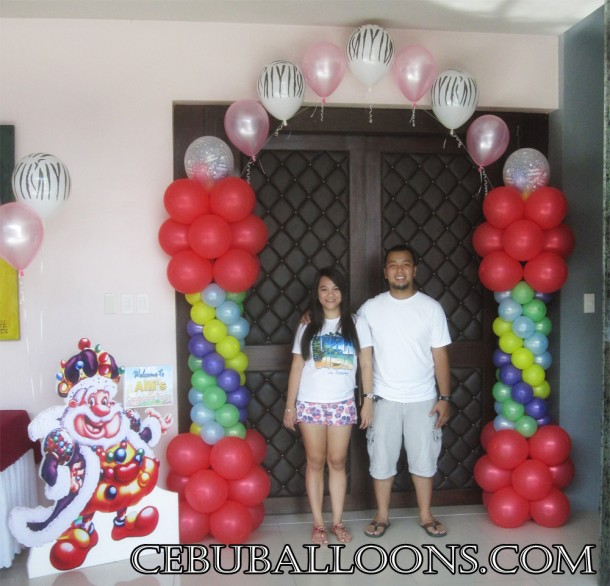 Candyland Entrance Arch at Allure Hotel