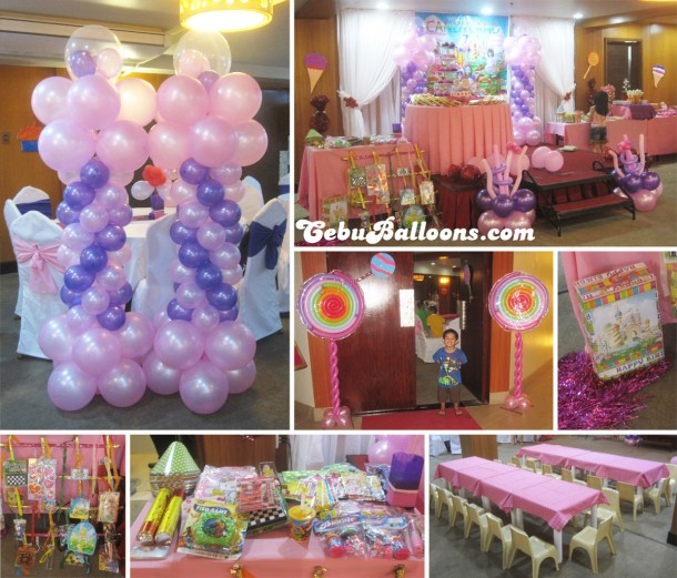 Candyland Party & Decoration Package at Goldberry Suites