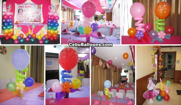 Candyland Theme Balloon Decoration Package at Golden Peak Hotel