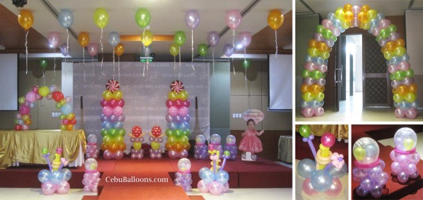 Candyland Theme Balloon Setup (Arya) at Allure Hotel