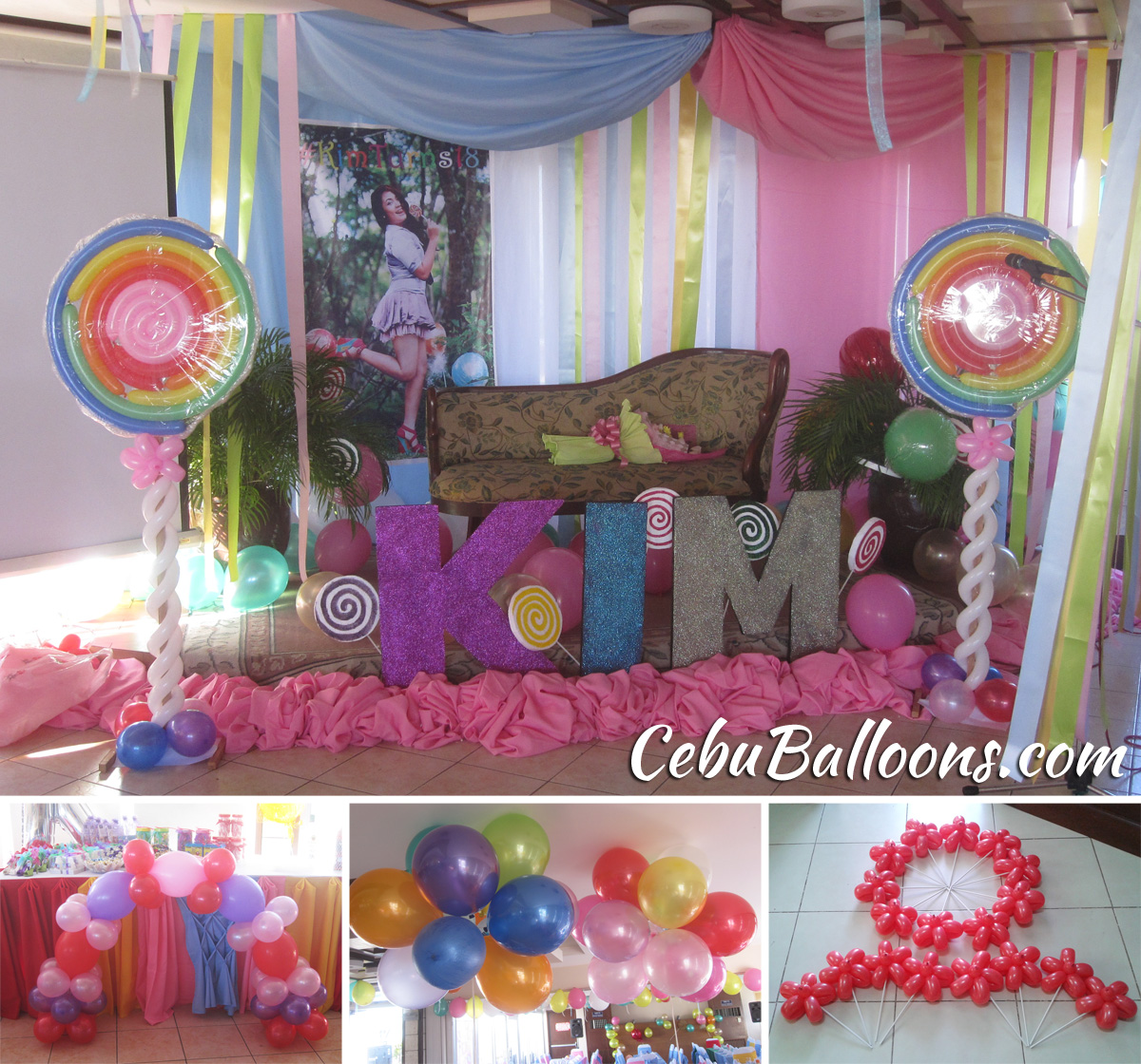 Debut 18th Birthday Cebu Balloons and Party Supplies