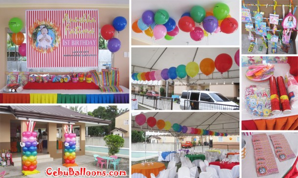 Carnival Theme Balloon Decoration & Party Package at Happy Homes Subdivision