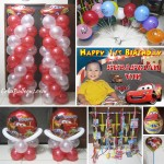 Cars Balloon Decors & Party Package at Purok Shooting Star
