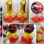 Cars Lightning McQueen Balloon Package at Pusok Lapulapu