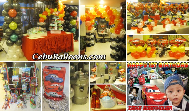 Cars & Racing Theme Decoration and Party Package
