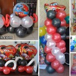 Cars Theme Balloon Decor & Party Supplies at Dimataga Village