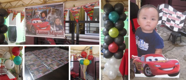 Cars Theme Balloon and Party Package at Deca Homes Mactan 1