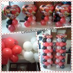 Cars Theme (Red, Black & White) Decors
