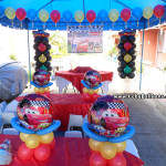 Cars theme Balloon Decoration & Party Package at St Bernadette, Masulog Lapulapu