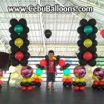 Cars-theme Balloon Decors at Family Park Pavillion