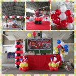 Cars-theme Decoration at San Roque Parish Gym