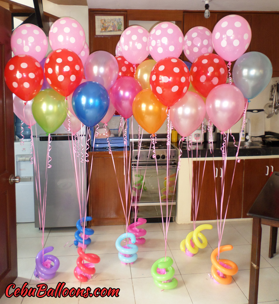Candy crush cebu balloons and party supplies for Balloons arrangement decoration