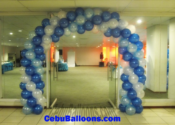 Christening Balloon Arch at CICC