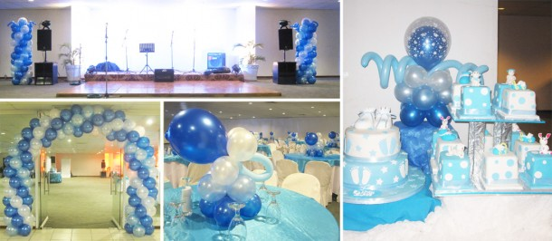 Christening Balloon Decoration Package at CICC