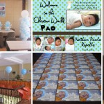 Christening Balloon Decors with Giveaways at Sugbahan (Nathan Paolo)