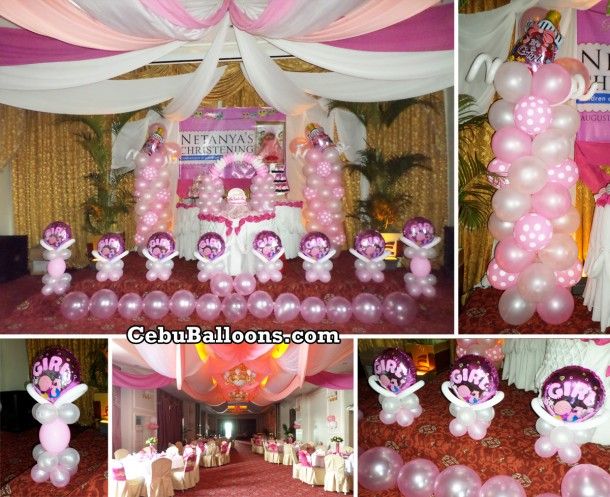 Christening Balloon Setup (Netanya) at Sarrosa International Hotel