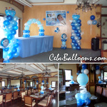 Christening Balloon Setup at Pino Restaurant