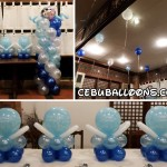 Christening Balloons with a touch of Mickey & Minnie at Patio Isabel