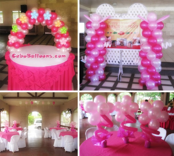 Christening Decor Package (Girl) at Minglanilla