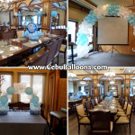 Christening Decor Package for a Boy at Pino Restaurant 2nd Floor