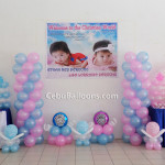 Christening Decor Package with Tarp & Giveaways (Perocho) at Baywater Clubhouse