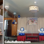 Christening Decoration with Tarp & Ref Magnets at Goldberry Suites