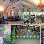 Christening Decors for Kenshin at White Room Pino Restaurant