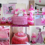 Christening Package D with Cake & Standees at Maria Lina Building
