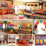Clown-Carnival Balloon Decor & Party Needs (Combo Package C) at Sugbahan