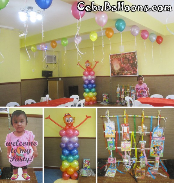 Clown Theme Kiddie Party Package at Hannah's Function Room