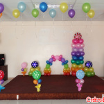 Colorful Balloon Decoration for a Christening & Birthday at LEMCO Sea Breeze Function Room